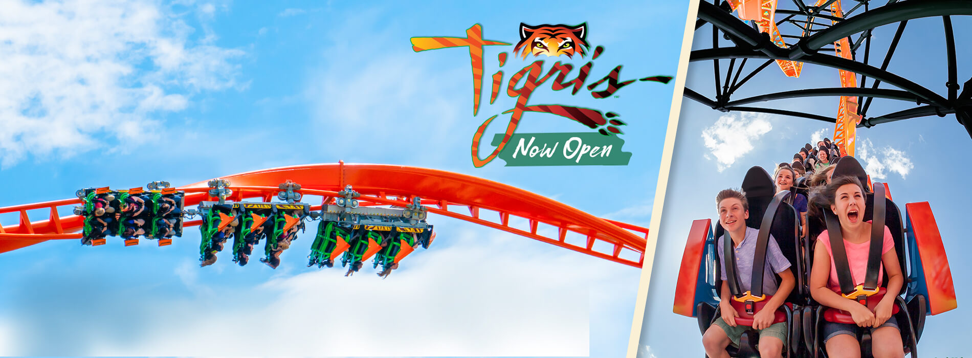 Take on Tigris - NEW - Florida's Tallest Launch Coaster - at Busch Gardens Tampa Bay - NOW OPEN!